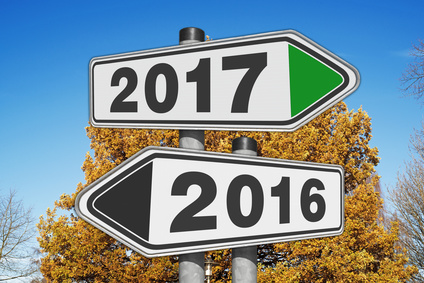 Opposite directions towards year 2016 and 2017